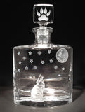 Howling Wolf Flask Decanter