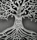 "Your Custom Initials in our Tree of Life! 12"" x 12"" Frame"