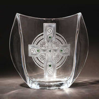 Celtic Shield Winged Vase