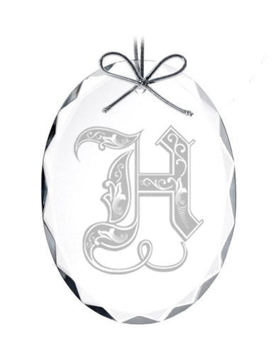 Regal Initial Ornament