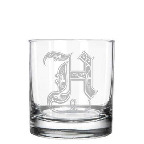 Regal Initial Whiskey Glass