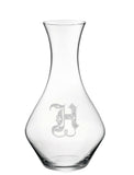 Regal Initial Wine Carafe