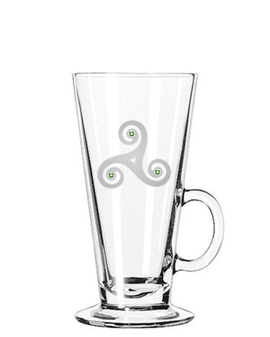 New Grange  Irish Coffee Glass