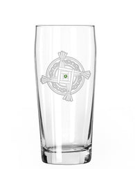St. Brigid's Cross Pint Glass