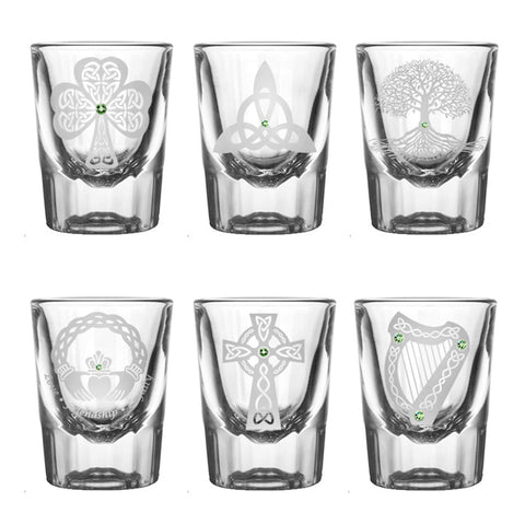 Healy Signature Shot Glasses (Set of 6)