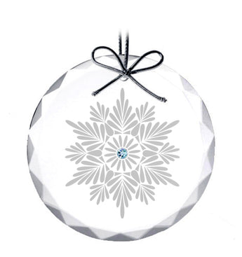 Shimmering Snowflake Ornament