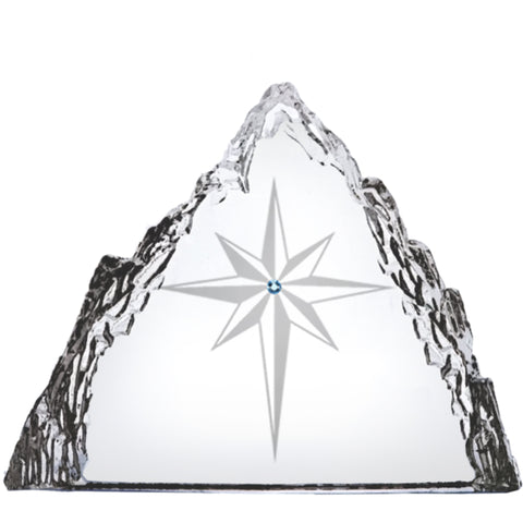 Star of Bethlehem Crystal Sculpture