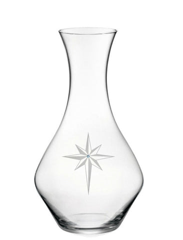 Star of Bethlehem Wine Carafe