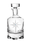 Star of Bethlehem Footed Decanter