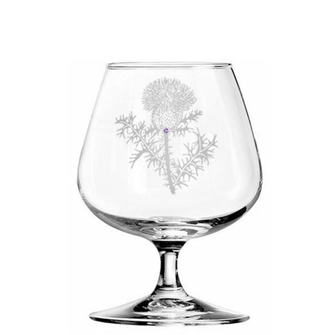 Thistle Brandy Glass