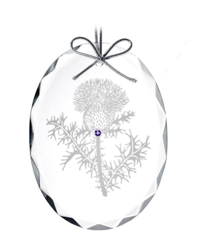Thistle Ornament