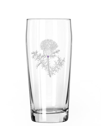 Thistle Pint Glass
