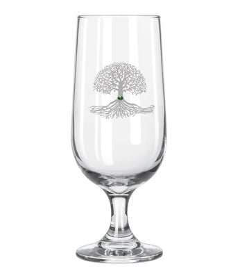 Tree of Life Pilsner Beer Glass *