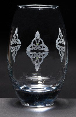 Celtic Reflections Elliptical Vase