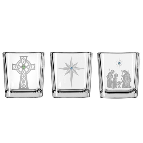 Christmas Votive Trio