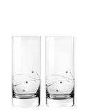 Windswept Highball Glasses (Set of 2)
