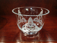 Trinity Knot Fluted Bowl