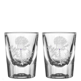 Thistle Shot Glasses