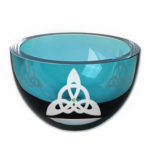 Trinity Knot Color Housewarming Bowl