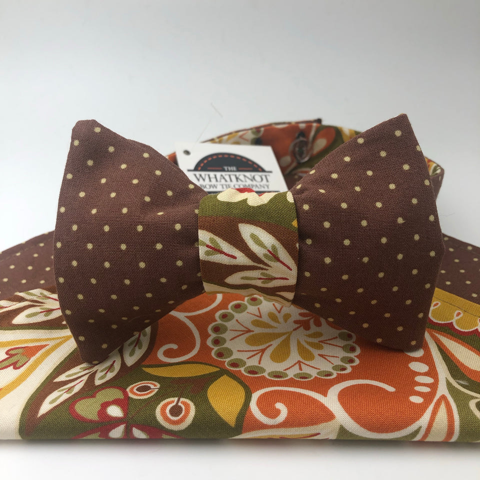 Green Tea Bow Tie Combo