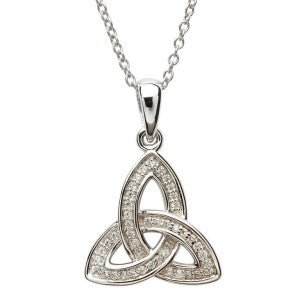 ShanOre Jewelry stone set Celtic Knot Pendant