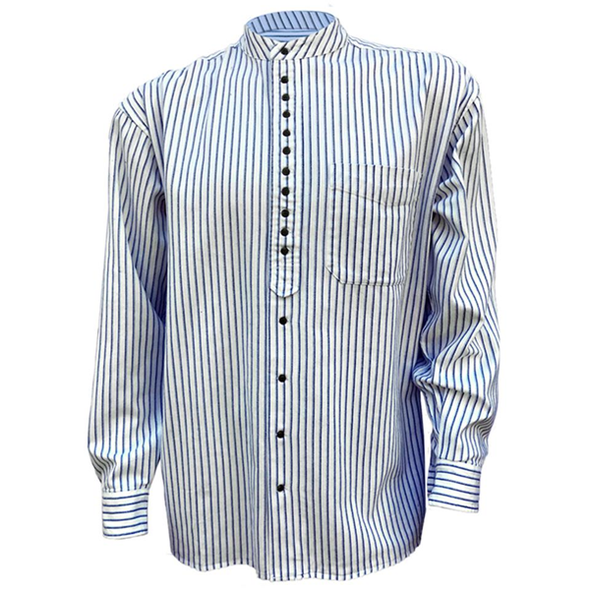 grandad collarless shirt
