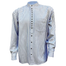 front of 20s twill grandfather shirt by civilian