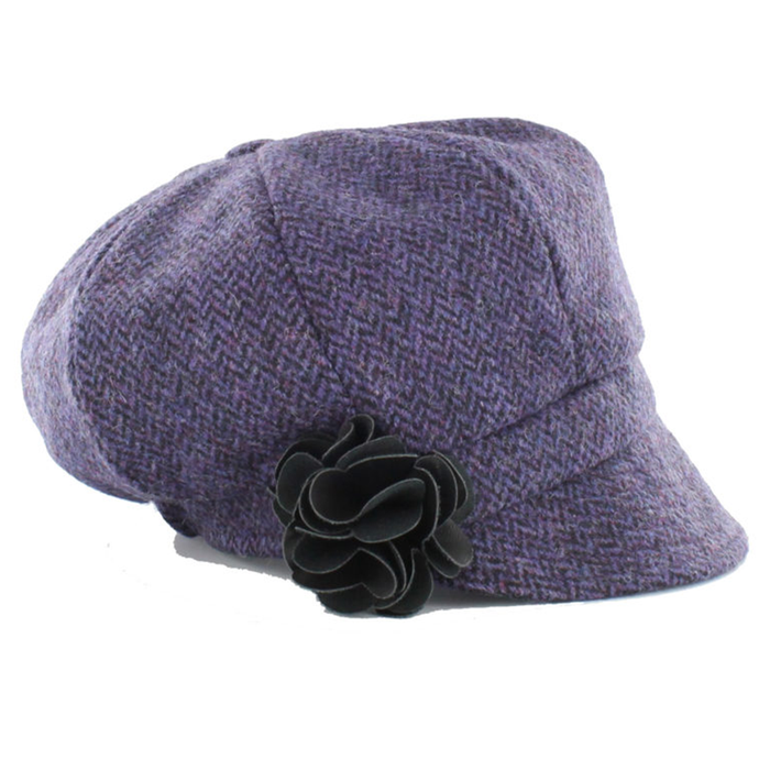 women's newsboy cap / color 213 purple lavender