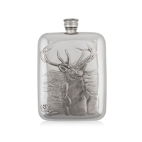 Whiskey Stag Hip Flask