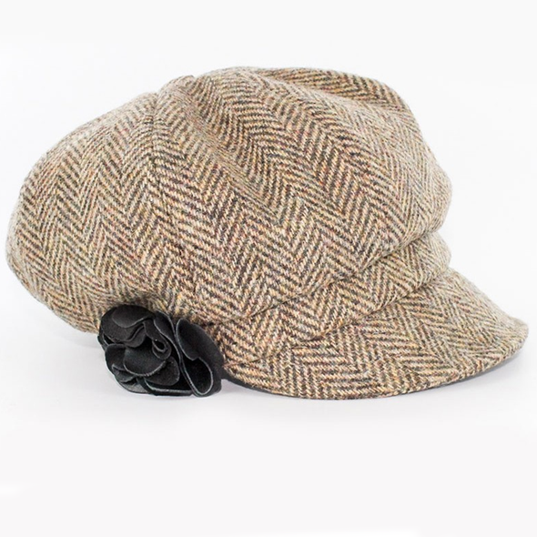 women's newsboy cap / color 783-224
