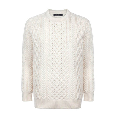 irelands eye knitwear honeycomb pullover sweater