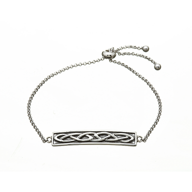 sterling silver celtic bracelet by anu celtic jewellery