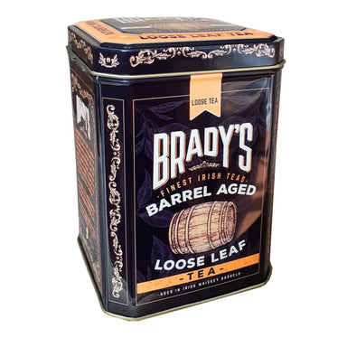 brady's barrel aged loose leaf tea