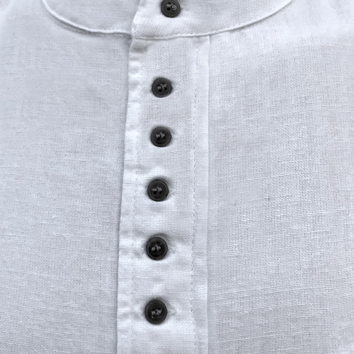 inset of white grandfather shirt by civilian