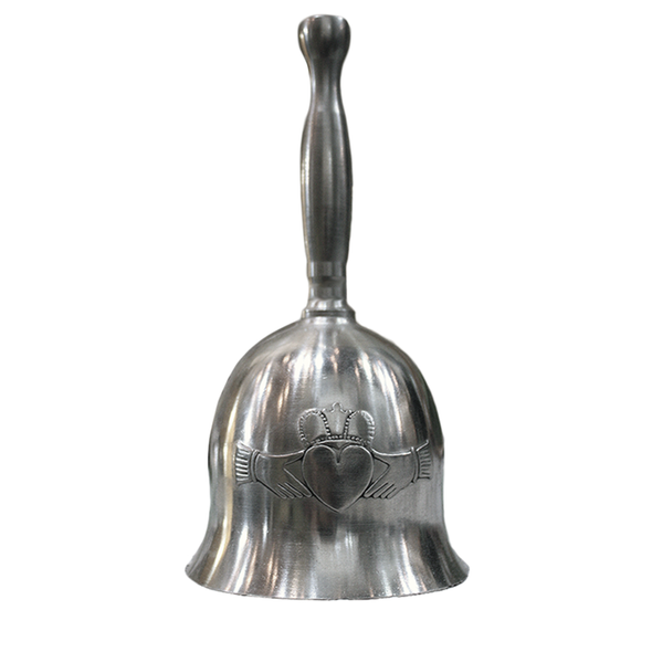 Claddagh Wedding Bell by Mullingar Pewter Made in Ireland