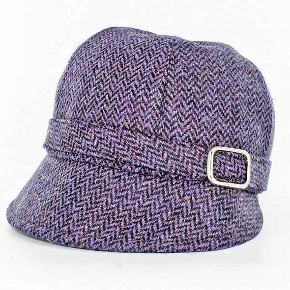 purple irish flapper hat / color 213
