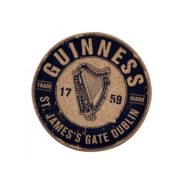 cork place mat by guinness