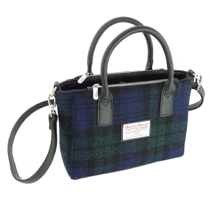 brora harris tweed small tote bag style 60 by glen appin