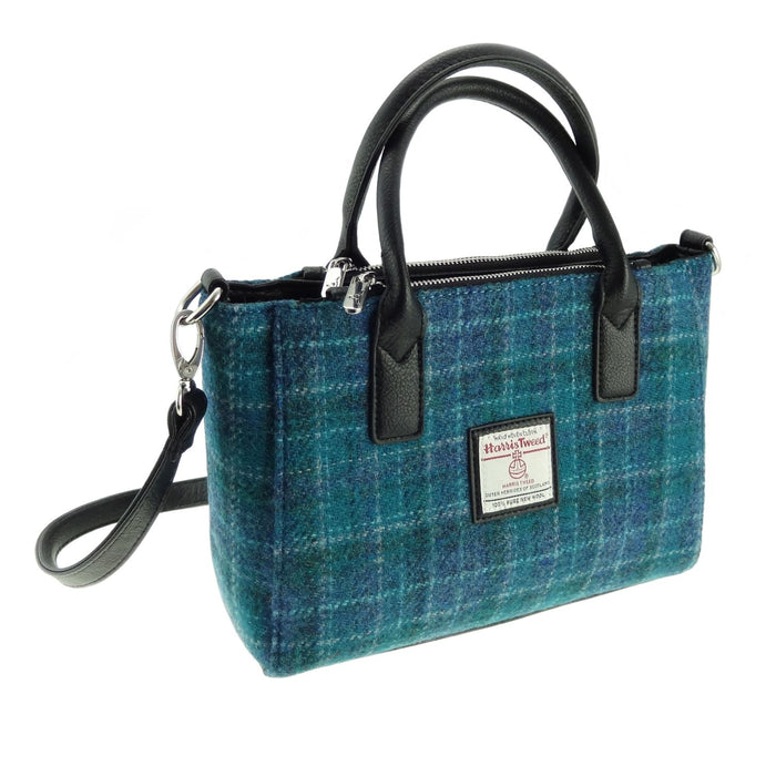 brora harris tweed small tote bag style 92 by glen appin