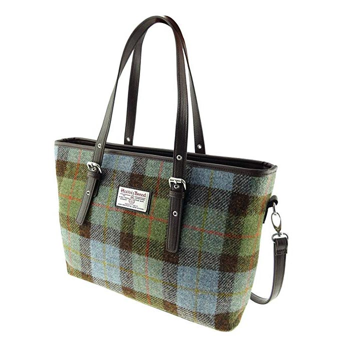 Harris Tweed Large Tote Bag