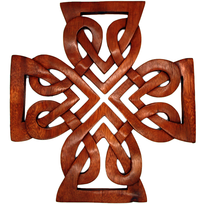Hand Carved Celtic Cross
