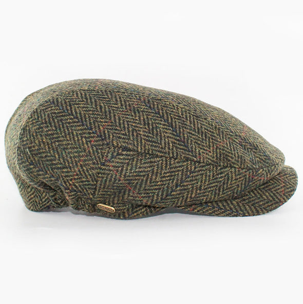 Mucros Weavers Kerry Cap in color 27 / brown mens driving hat