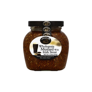 Lakeshore Irish Stout Mustard Wholegrain