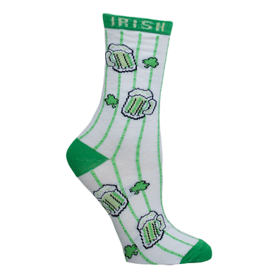 Ladies St. Patrick's Adult Socks