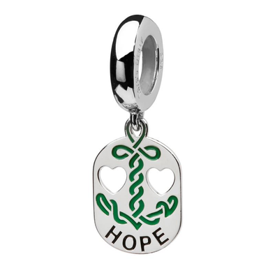 Sterling Silver Celtic Hope Bead