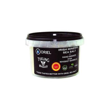 oriel irish mineral sea salt with teeling whiskey by food ireland
