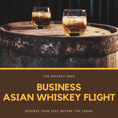 Business Asian Whiskey Flight