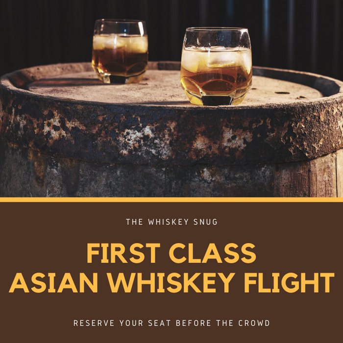 First Class Asian Whiskey Flight