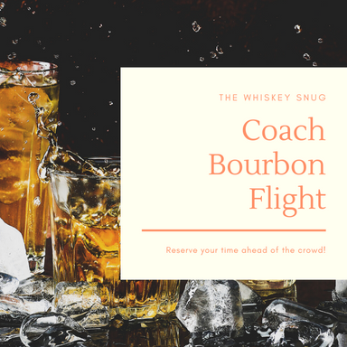 Coach Bourbon Flight