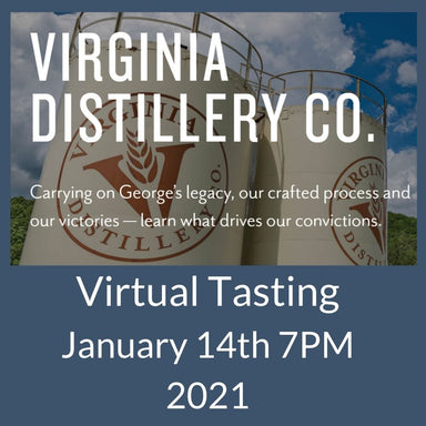 Virginia Distillery Company Virtual Tasting